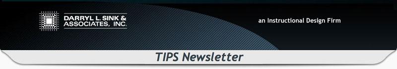 Another DSA TIPS Newsletter!